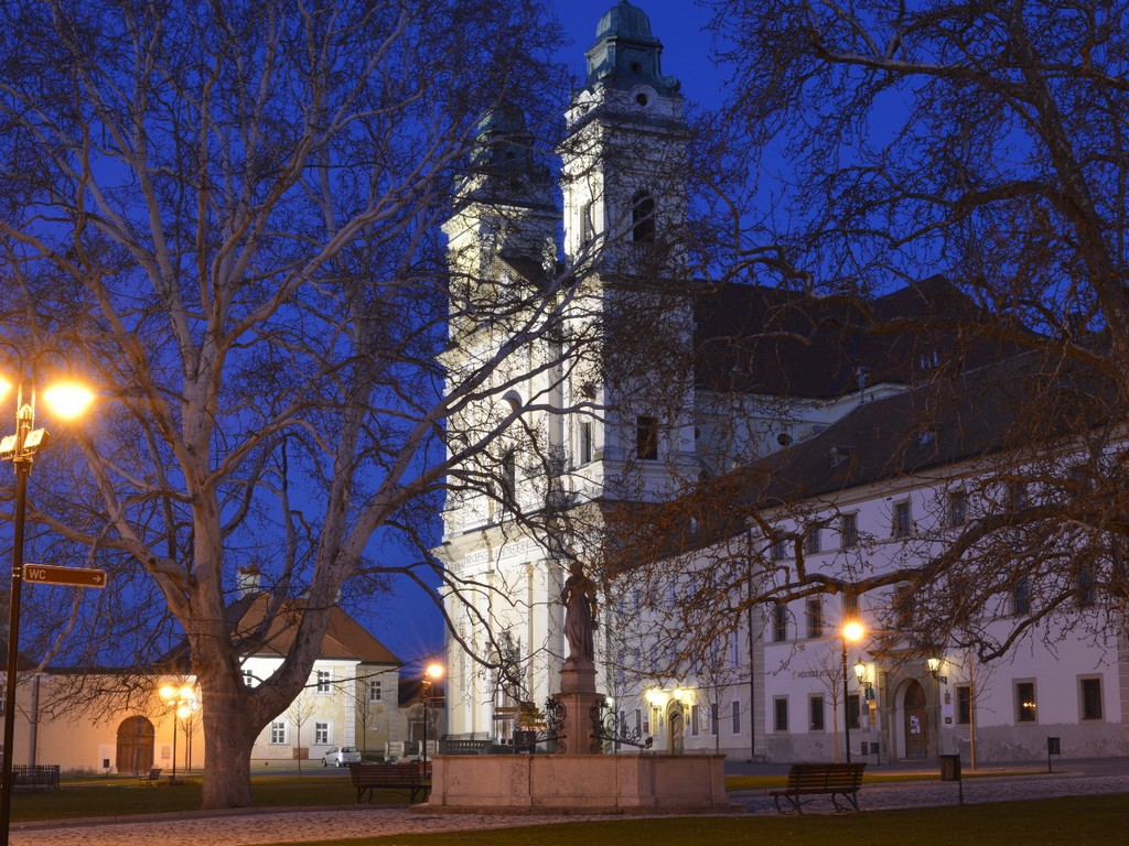 Read more about the article Morawskie Valtice nocą